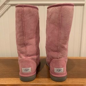 Ugg Classic Tall Pink Boots